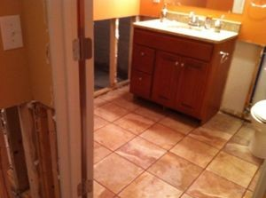 Mold Infestation Found In Bathroom