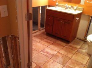 Mold Infestation Found In Bathroom
